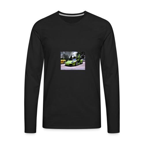 cool man - Men's Premium Long Sleeve T-Shirt