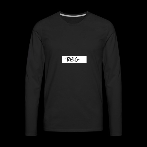 RBG - Men's Premium Long Sleeve T-Shirt