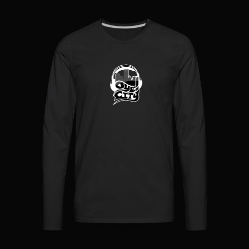 Blackout Oye City - Men's Premium Long Sleeve T-Shirt