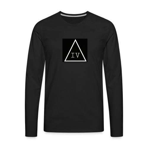 IV LOGO - Men's Premium Long Sleeve T-Shirt