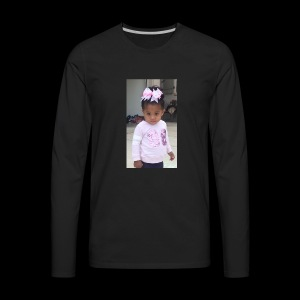 Morgan Pose - Men's Premium Long Sleeve T-Shirt