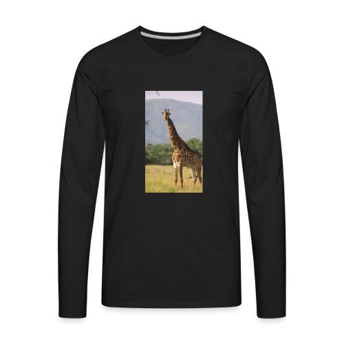 Girrafe - Men's Premium Long Sleeve T-Shirt