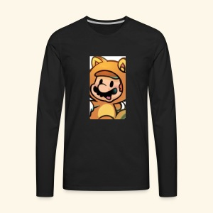 Time for Mario - Men's Premium Long Sleeve T-Shirt