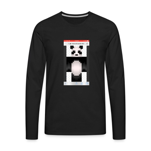 Pandagaming.com - Men's Premium Long Sleeve T-Shirt