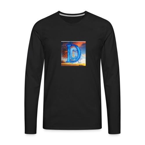 Sunset line - Men's Premium Long Sleeve T-Shirt
