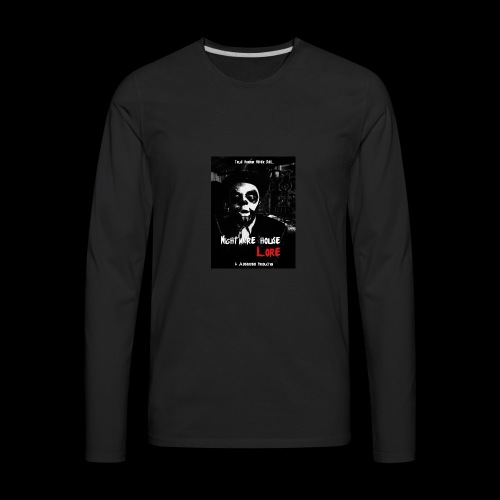 Nightmare House Lore Dr. Voodoo Poster - Men's Premium Long Sleeve T-Shirt