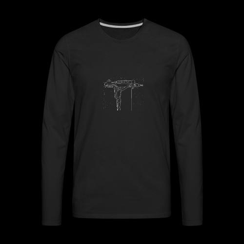 UZICHRIST -WHITE - Men's Premium Long Sleeve T-Shirt