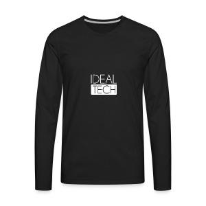 Ideal Tech - Men's Premium Long Sleeve T-Shirt