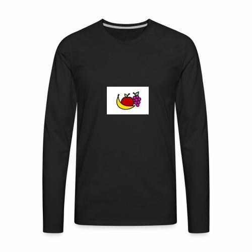 Fruitshirt. - Men's Premium Long Sleeve T-Shirt
