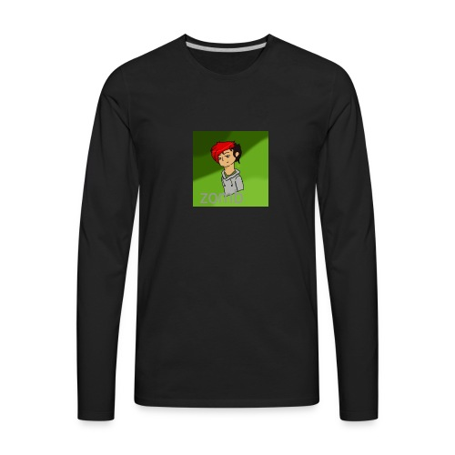 zomb is nere - Men's Premium Long Sleeve T-Shirt