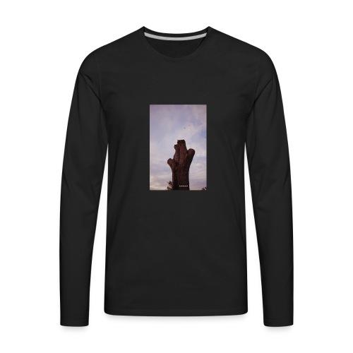 Brown Chirps - Men's Premium Long Sleeve T-Shirt