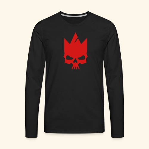 Red Mad King - Men's Premium Long Sleeve T-Shirt
