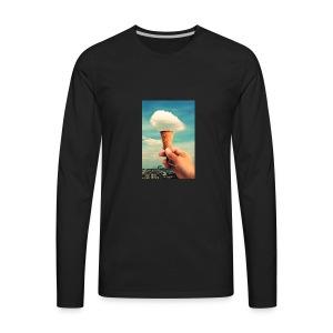 ice cream cones - Men's Premium Long Sleeve T-Shirt