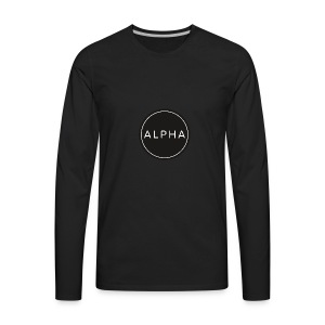alpha team fitness - Men's Premium Long Sleeve T-Shirt