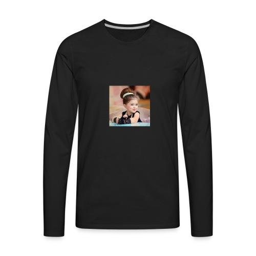 Cute baby - Men's Premium Long Sleeve T-Shirt
