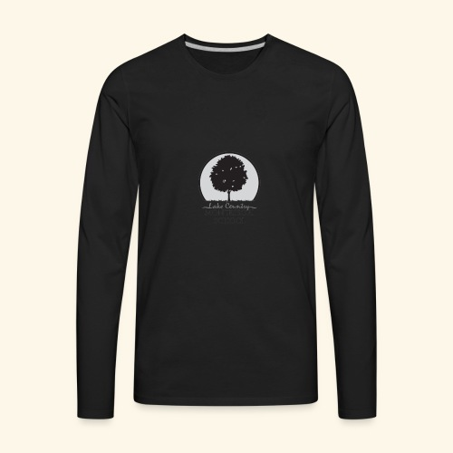 LCM school logo apparel and accessories - Men's Premium Long Sleeve T-Shirt