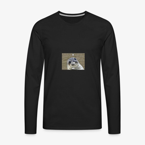O My God Seal - Men's Premium Long Sleeve T-Shirt