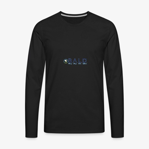 B.A.L.D. Beauty Always Looks Different - Men's Premium Long Sleeve T-Shirt