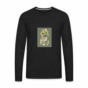 IMG 20170702 160942 578THE DROID - Men's Premium Long Sleeve T-Shirt