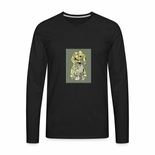 IMG 20170702 160942 578THE DROID - Men's Premium Long Sleeve T-Shirt