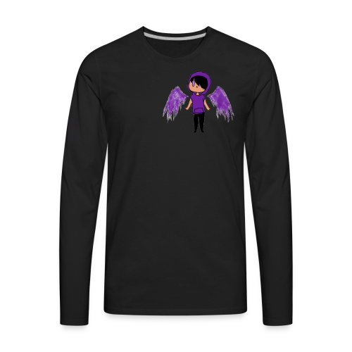 Purple Angel - Men's Premium Long Sleeve T-Shirt