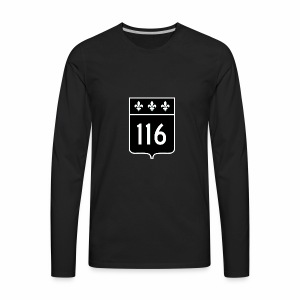 route 116 - Men's Premium Long Sleeve T-Shirt