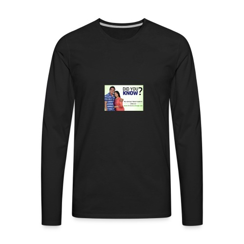 did you know121 - Men's Premium Long Sleeve T-Shirt