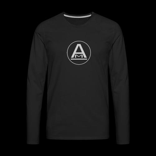 ( AlphaSecretsTV ) - Men's Premium Long Sleeve T-Shirt