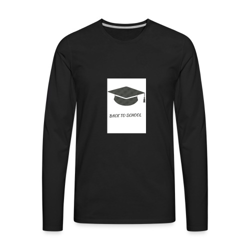 back to school - Men's Premium Long Sleeve T-Shirt
