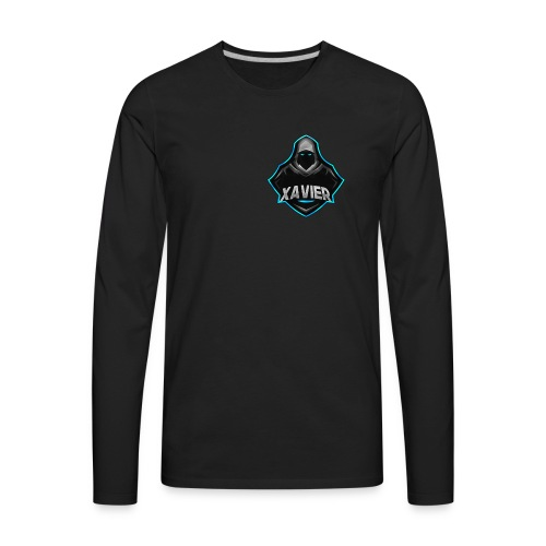 Xavier logo - Men's Premium Long Sleeve T-Shirt