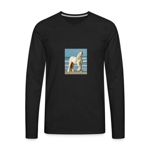 horse dimond - Men's Premium Long Sleeve T-Shirt