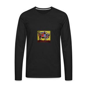 bull - Men's Premium Long Sleeve T-Shirt