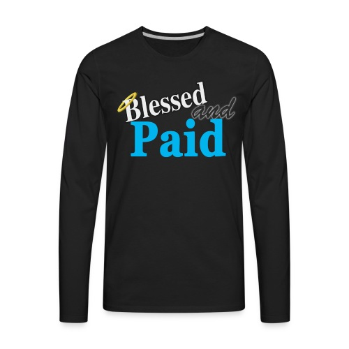 Baby Blue Angel - Men's Premium Long Sleeve T-Shirt