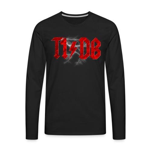 T1/DB AC/DC Style - Men's Premium Long Sleeve T-Shirt
