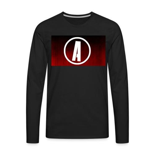 AlphaApexTV Logo Merch - Men's Premium Long Sleeve T-Shirt
