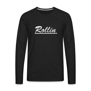 Rollin Logo Logo - Men's Premium Long Sleeve T-Shirt