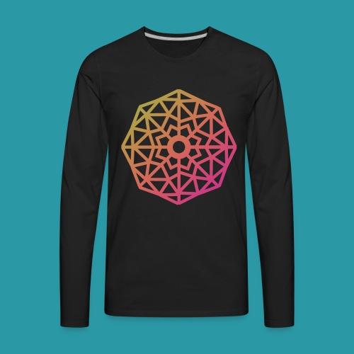 Inverted Snowflake - Men's Premium Long Sleeve T-Shirt