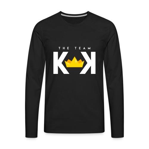 THE KEK TEAM white - Men's Premium Long Sleeve T-Shirt