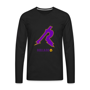 No Boarder Purple R - Men's Premium Long Sleeve T-Shirt