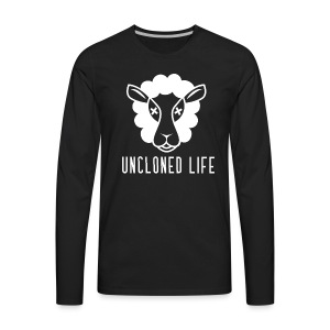 UnCloned White- Classic - Men's Premium Long Sleeve T-Shirt