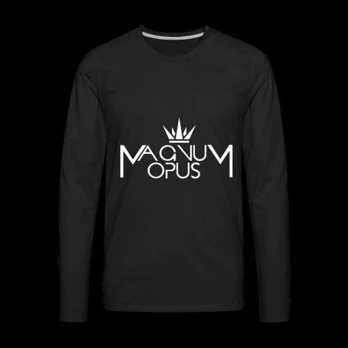 MOCC Magnum Opus WHT - Men's Premium Long Sleeve T-Shirt