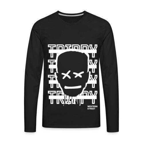 Trippy Design - Men's Premium Long Sleeve T-Shirt