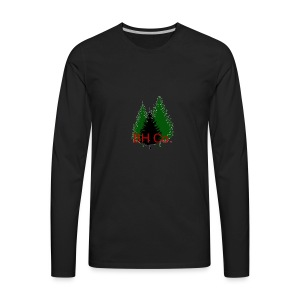 EVERGREEN LOGO - Men's Premium Long Sleeve T-Shirt