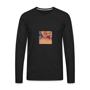 Gold mouth - Men's Premium Long Sleeve T-Shirt