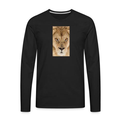 fullsizeoutput 15d1Lion - Men's Premium Long Sleeve T-Shirt