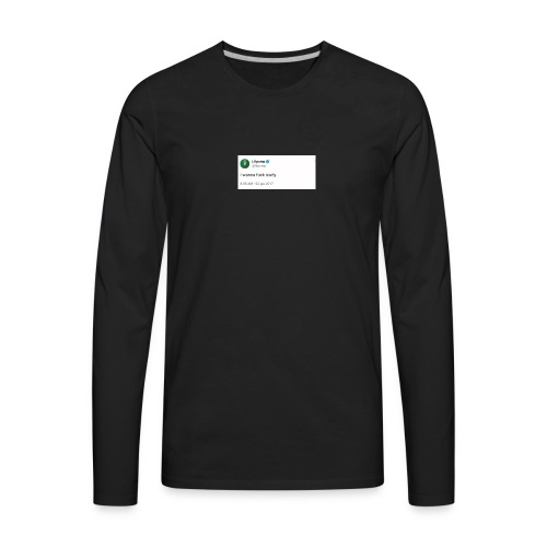 I wanna fxck icarly - Men's Premium Long Sleeve T-Shirt