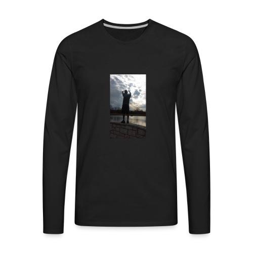 SKIES THE LIMIT - Men's Premium Long Sleeve T-Shirt