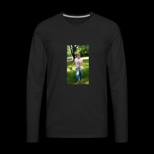 Smiling James - Men's Premium Long Sleeve T-Shirt