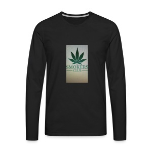 Smokers club - Men's Premium Long Sleeve T-Shirt