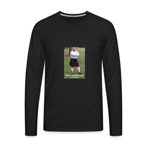 Kilted Realtor - Men's Premium Long Sleeve T-Shirt